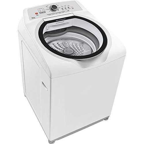 Lavadora de Roupas Brastemp BWH15A 15kg 7 Programas de Lavagem e Enxágue Antialérgico - Branco - 127 V