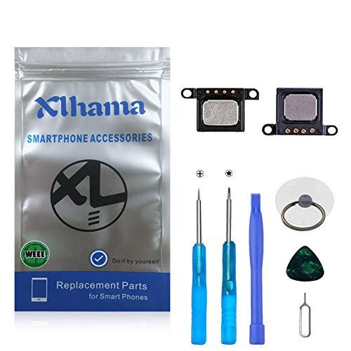 Xlhama 2-Pack Ensamblaje Auricular Altavoz Interno Compatible con iPhone 6S Ear Speaker de Repuesto con Kit Desmontaje transformación de reemplazo con Completa Herramientas Incluidas