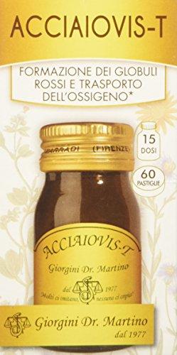 Dr. Giorgini Integratore Alimentare, Acciaiovis Pastiglie - 30 g