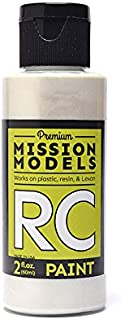 Mission Models MMRC-018 Water-Based RC Paint, 2 oz Bottle, Pearl White