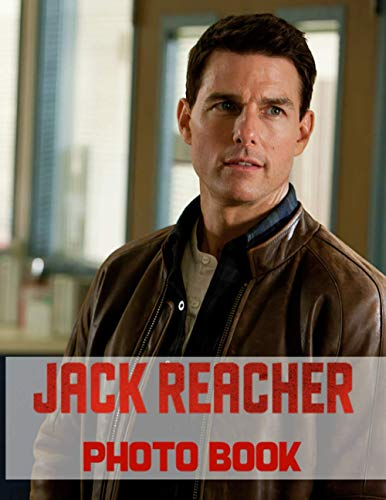Jack Reacher Photo Book: Jack Reacher Stunning 20 Photo Pages Books For Kids And Adults