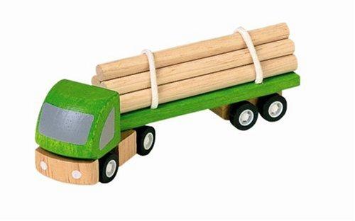 PlanToys - PT6005 - Jouet en bois - Véhicule - Transport de Bois