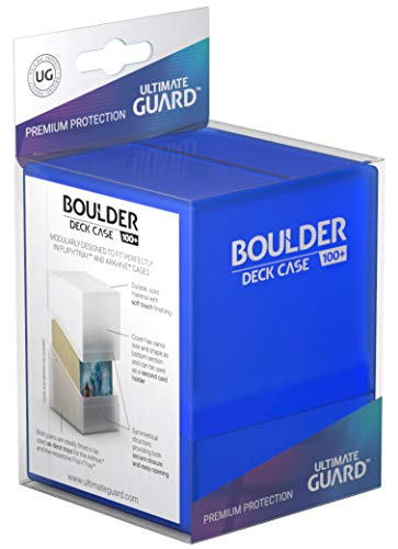 Price comparison product image Ultimate Guard Boulder Deck Case 100+ Card Game,  Sapphire,  Large (UGD010691)