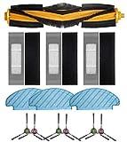NICERE Partes de aspirador reemplazos 13 unids/set piezas de repuesto para Deebot OZMO T8 serie POWEWR aspirador robótico