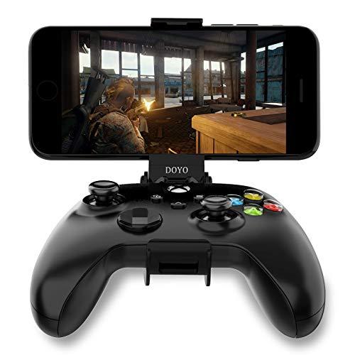 Soporte para teléfono Xbox Series X Controller, Soporte Plegable para teléfono para Xbox Series S | X / Xbox One Controladores inalámbricos Clip para teléfono móvil Ajustable (Solo Clip)