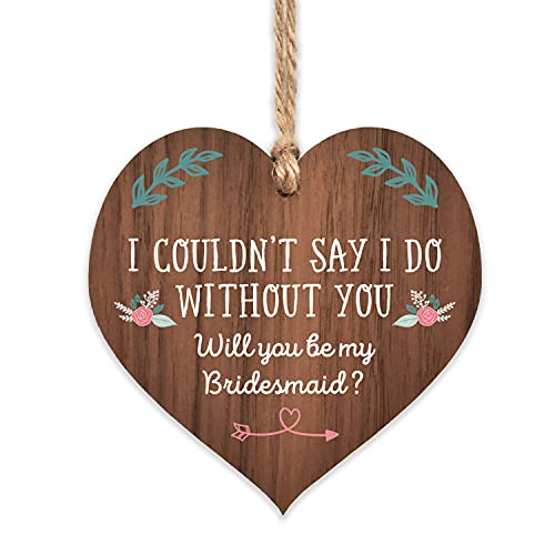 Will you be bridesmaid gifts | proposal floral ornament for women | wedding...