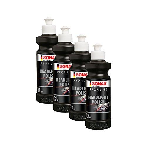 SONAX 4X 02761410 PROFILINE HeadlightPolish Scheinwerfer Politur Paste 250ml