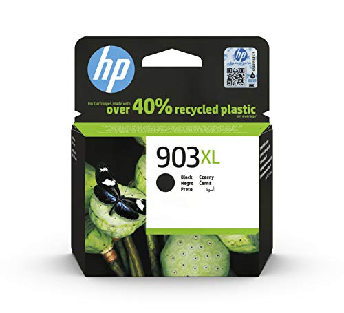 HP 903XL T6M15AE, Negro, Cartucho de Tinta de Alta Capacidad Original, compatible...