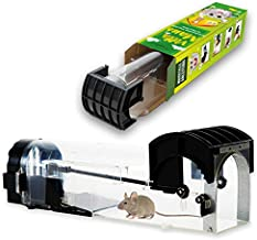 Avantina Mouse Mansion Humane Mouse Trap - Mouse Traps That Work - Animal Friendly Mouse Trap, with Big Cage for Small and Big Mice - Catch and Release, Child&Pet Safe
