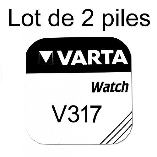 Uhrbatterien, Knopfbatterien Varta 317SR62SW 1,55V 2Batterien–Varta, 317, SR62