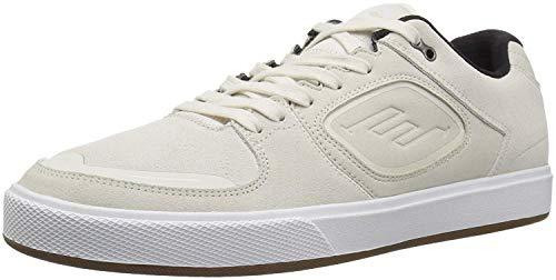 Emerica Men's Reynolds G6 Skate Shoe, White, 7 Medium US