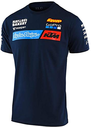 Troy Lee Designs T-Shirt KTM Team Blau Gr. XXL