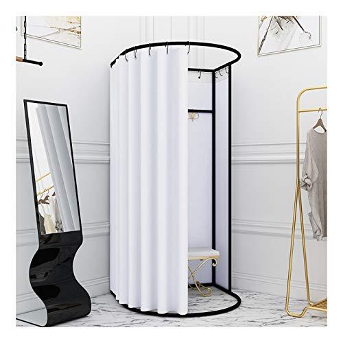 Probador Tienda de ducha de privacidad, sala de accesorios móviles temporales, ropa y sombreros Soporte de exhibición, portátil al aire libre al aire libre refugio campamento inodoro cambio de vestido