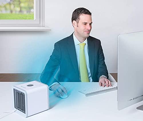 MediaShop Livington Arctic Air – Luftkühler mit Verdunstungskühlung – Mobiles Klimagerät mit 3 Stufen und 7 Stimmungslichtern – Mini Klimagerät mit Tankvolumen für 8h Kühlung - 6