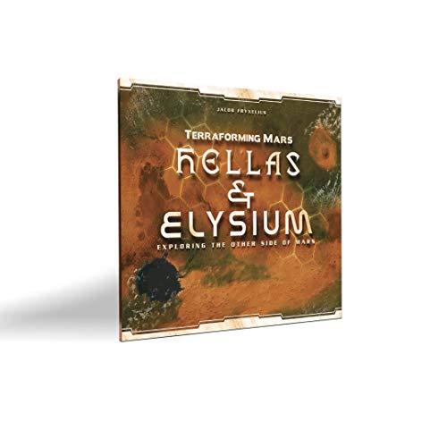 Expansão Hellas & Elysium - Jogo de Tabuleiro Terraforming Mars, Meeple BR