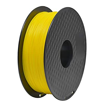 GEEETECH PLA Filament 1.75mm 1Kg spool for 3D Printer,Vacuum Packaging,Yellow