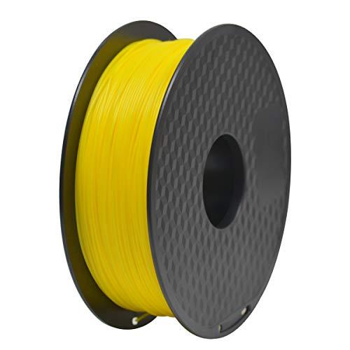 GEEETECH Filamento PLA 1.75mm para impresión 3D, 1kg Spool, Amarillo