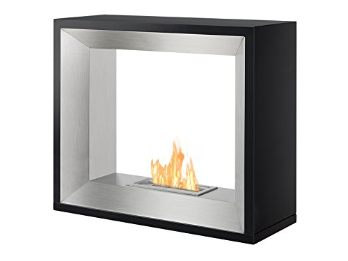 Fantastic Prices! IGNIS Freestanding Ventless Bio Ethanol Fireplace - Tempo