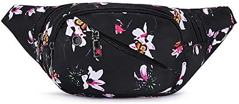 ZOORON Fanny Pack for Women Waist Bag Pack with Adjustable Strap Running Hiking Cycling Traveling product image