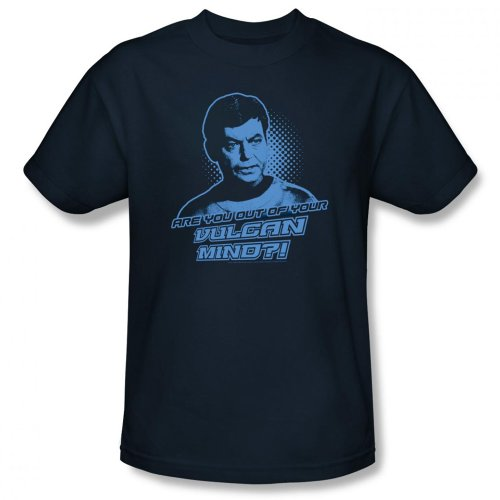Star Trek Are You Out of Your Vulcan Mind? T-shirt (L)