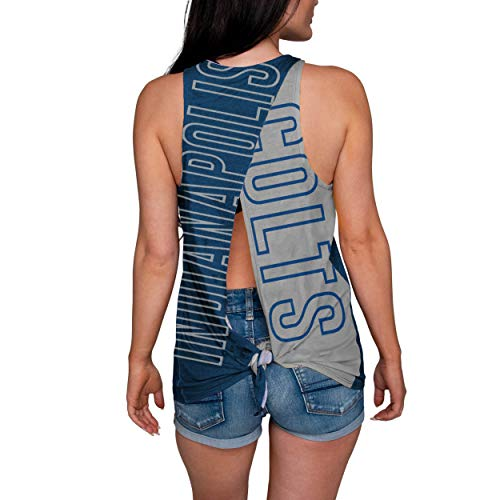 Indianapolis Colts NFL Womens Tie-Breaker Sleeveless Top - S