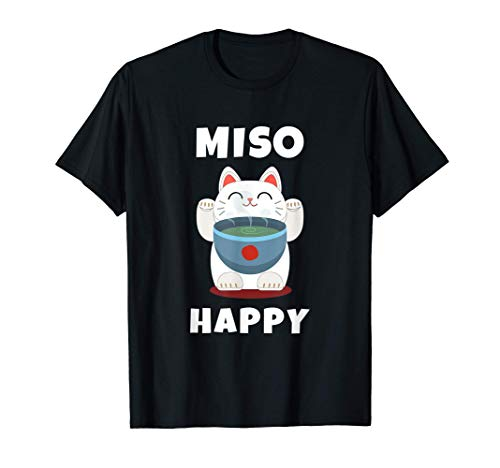 Miso Happy Cute Japanese Food Anime Cat Gift Miso Happy...