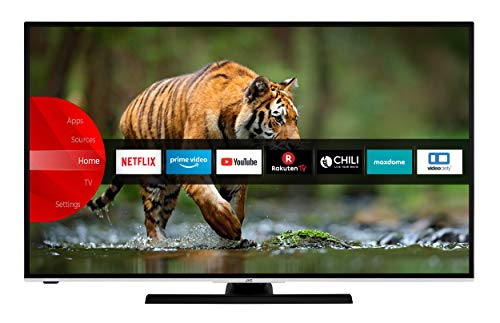 JVC LT-58VU6955 146 cm / 58 Zoll Fernseher (Smart TV inkl. Prime Video / Netflix / YouTube, 4K UHD mit Dolby Vision HDR / HDR 10 + HLG, Bluetooth, Works with Alexa, Triple-Tuner) [Modelljahr 2020]