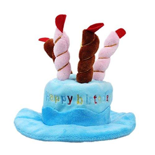 Thmyo Bonito Sombrero de cumpleaños para Mascota, Sombrero de cumpleaños para Perro...