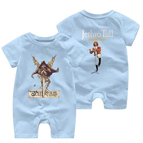 Baby Mädchen Jungen Bodysuit Jethro-Tull Logo Baumwolle Kinderbekleidung Bekleidung T-Shirt Kurzarm Tee Shirts