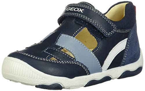 Geox Baby Jungen B New Balu' Boy B Klettschuhe, Blau (Navy C4002), 22 EU