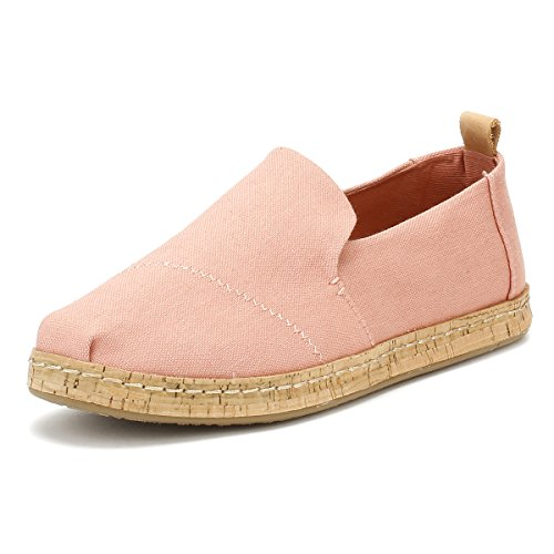 TOMS Kids Girl's Lenny (Little Kid/Big Kid) Rose Gold Pearlized Synthetic Leather/Dots 12 M US Little Kid M