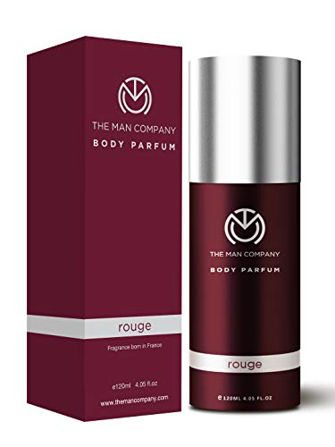 The Man Company Non-Gas Body Perfume For Men - Rouge (120 Ml) | Made in India