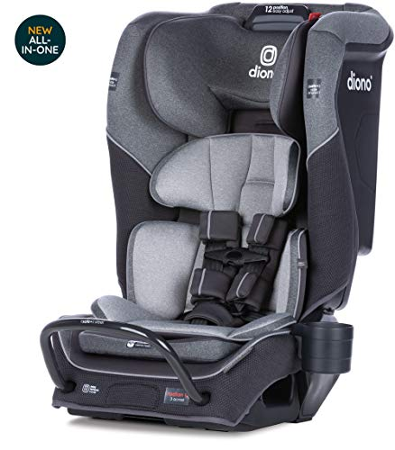 Check Out This Diono Radian 3QX Latch, All-in-One Convertible Car Seat, Gray Slate