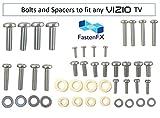 Vizio TV mounting Screws and washers - fits Any Vizio TV