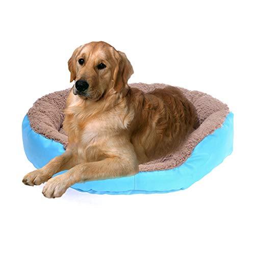 MEISISLEY katzenbett hundebett kleine Hunde Haustiernest Luxus Hundebett Kätzchenbett Hund Schlafsofa Haustierbetten Für Hunde Haustierbetten Für Katzen Blue,L