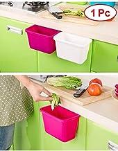 JN-STORE'S Hanging Kitchen Waste Bin Hanged Cupboard Door Simple Garbage Bin Scrap Storage Box Desktop Kitchen Rubbish Garbage Organizer (1Pc)