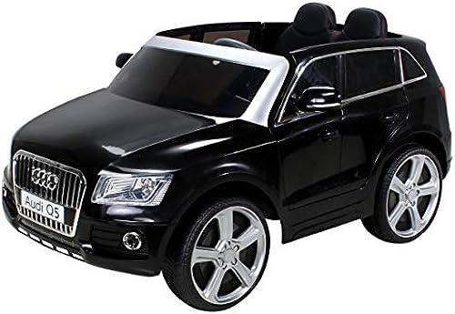 oferta especial Infantil Coche Eléctrico Audi Q5 Licencia Original Coche Niños Vehiculo Vehiculo Vehiculo Infantil Electro Auto Juguete para Niños - negro  bienvenido a elegir
