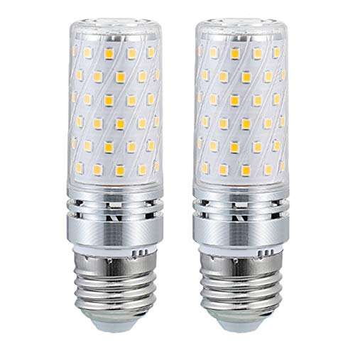 E27 LED Bulb 12W 1200LM,2700K-6500K Intelligent Three-color Light Exchange, Non-Dimmable 120W Equivalent Replacement Incandescent Bulb,Appliance Bulbs, Microwave Oven, Stovetop Light, 2-Pack.,220V