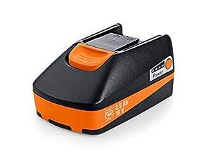 Fein 92604171020-Ionen (LiIon) 2500mAh 18V Rechargeable Battery–wiederaufladbar Akkus (2500mAh,-Ionen (LiIon), 18V, Black, orange)