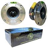 IPNOSIS IPT1001 Paar Tweeter 100 watt rms und 200 watt max von 10,00 cm des diameters 4' alluminium und Tiefe nur 4,00 cm, Paar