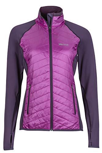 Marmot Variant Veste polaire pour femme en fibre synthétique XS Orchidée violette.