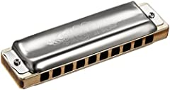 Diatonic harmonica with waterproof Maple Comb German Silver reedplates Stainless steel reeds & stainless steel coverplates but fits all traditional demands - a master's instrument for maximum ambitions The 1847 is the result of Seydel's 160-year of e...