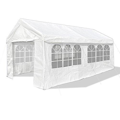 JOM Gartenpavillon 3 x 6 m, Pavillon, Pavillion, Partyzelt, Festzelt, Gartenzelt, 32er Gestänge extra stabil