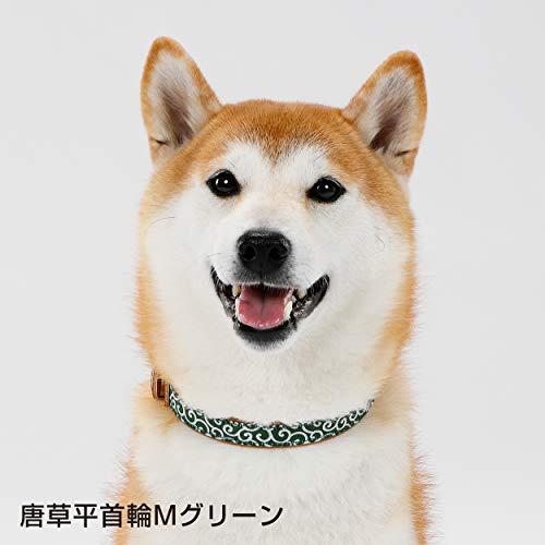PETIO『犬雅唐草平首輪Sサイズ』
