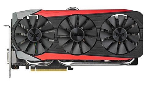 Asus Strix-R9390X-DC3OC-8GD5-GAMING AMD Gaming Grafikkarte (PCIe 3.0 x16, 8GB DDR5 Speicher, HDMI, DVI, 3x DisplayPort)