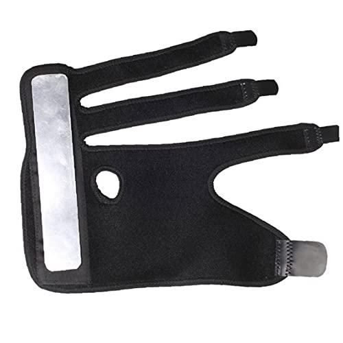 EElabper Trigger Finger férula de 3 Dedos Soporte Ajustable de la Mano Derecha Brace Wist del inmovilizador para el Alivio del Dolor