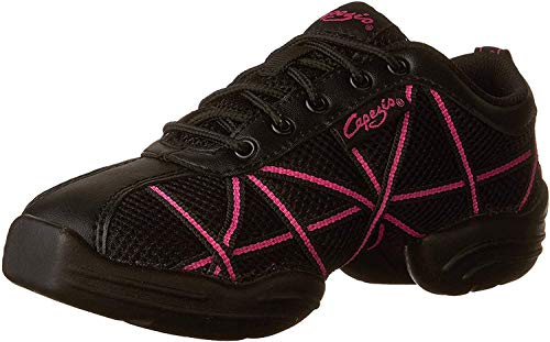 Capezio Damen Websneaker Sneaker, Rosa (Hot Pink), 35 EU