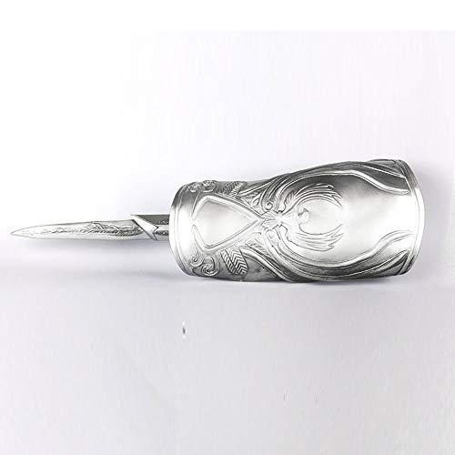 Assassins Creed III Cosplay Handschuhe Modell Armband Mit Sleeve Pfeile Sleeve Klinge Waffe Requisiten Dekorationen Souvenir-Charakter-Liebhaber-Geschenk