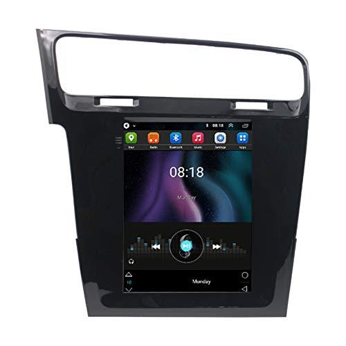 ADMLZQQ Android 9.0 Radio De Coche Navegación GPS para VW Golf 7 2013-2019 Car Stereo FM/Manos Libres Bluetooth/Controles del Volante/Cámara De Visión Trasera,4 Cores WiFi:1+32g