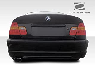 Extreme Dimensions Duraflex Replacement for 1999-2005 BMW 3 Series M3 E46 4DR CSL Look Rear Wing Trunk Lid Spoiler- 1 Piece